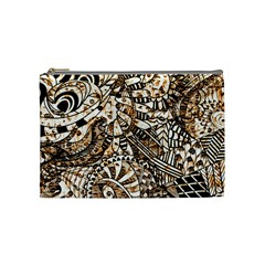 Zentangle Mix 1216c Cosmetic Bag (Medium)