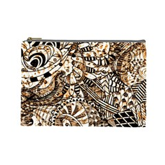 Zentangle Mix 1216c Cosmetic Bag (Large)