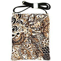 Zentangle Mix 1216c Shoulder Sling Bags