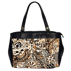 Zentangle Mix 1216c Office Handbags (2 Sides)
