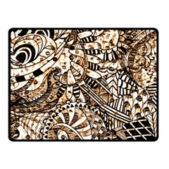 Zentangle Mix 1216c Fleece Blanket (Small)