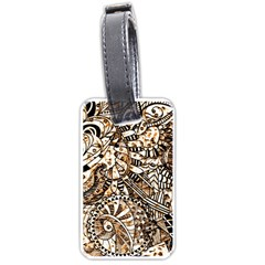 Zentangle Mix 1216c Luggage Tags (One Side)