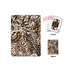 Zentangle Mix 1216c Playing Cards (Mini)