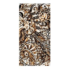 Zentangle Mix 1216c Shower Curtain 36  x 72  (Stall)