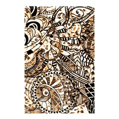 Zentangle Mix 1216c Shower Curtain 48  x 72  (Small)