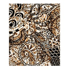 Zentangle Mix 1216c Shower Curtain 60  x 72  (Medium)