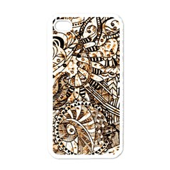 Zentangle Mix 1216c Apple iPhone 4 Case (White)
