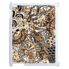 Zentangle Mix 1216c Apple iPad 2 Case (White)