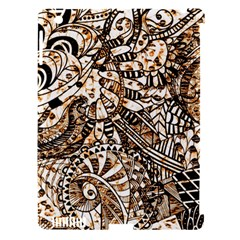 Zentangle Mix 1216c Apple iPad 3/4 Hardshell Case (Compatible with Smart Cover)