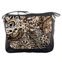 Zentangle Mix 1216c Messenger Bags