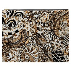 Zentangle Mix 1216c Cosmetic Bag (XXXL)