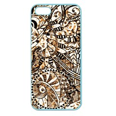 Zentangle Mix 1216c Apple Seamless iPhone 5 Case (Color)
