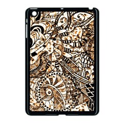 Zentangle Mix 1216c Apple iPad Mini Case (Black)