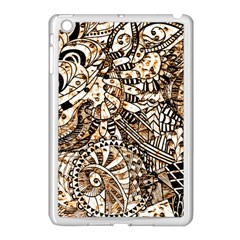 Zentangle Mix 1216c Apple iPad Mini Case (White)