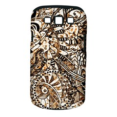 Zentangle Mix 1216c Samsung Galaxy S III Classic Hardshell Case (PC+Silicone)
