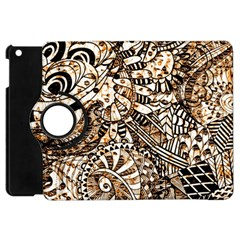 Zentangle Mix 1216c Apple iPad Mini Flip 360 Case