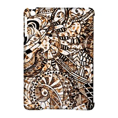 Zentangle Mix 1216c Apple iPad Mini Hardshell Case (Compatible with Smart Cover)