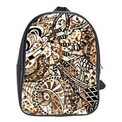Zentangle Mix 1216c School Bags (XL)
