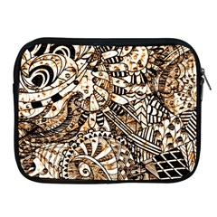 Zentangle Mix 1216c Apple iPad 2/3/4 Zipper Cases