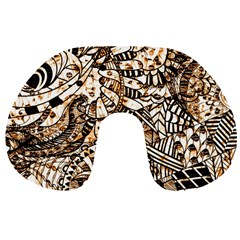 Zentangle Mix 1216c Travel Neck Pillows