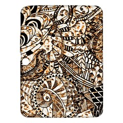 Zentangle Mix 1216c Samsung Galaxy Tab 3 (10.1 ) P5200 Hardshell Case