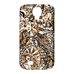 Zentangle Mix 1216c Samsung Galaxy S4 Classic Hardshell Case (PC+Silicone)