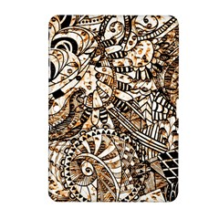 Zentangle Mix 1216c Samsung Galaxy Tab 2 (10.1 ) P5100 Hardshell Case