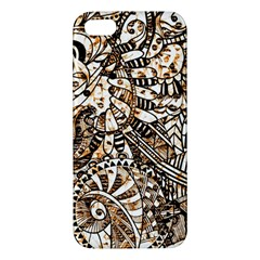 Zentangle Mix 1216c iPhone 5S/ SE Premium Hardshell Case