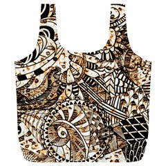Zentangle Mix 1216c Full Print Recycle Bags (L)