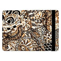 Zentangle Mix 1216c Samsung Galaxy Tab Pro 12.2  Flip Case