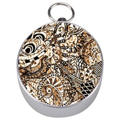 Zentangle Mix 1216c Silver Compasses