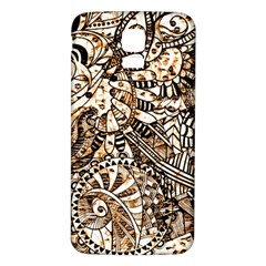 Zentangle Mix 1216c Samsung Galaxy S5 Back Case (White)