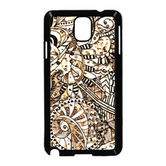 Zentangle Mix 1216c Samsung Galaxy Note 3 Neo Hardshell Case (Black)