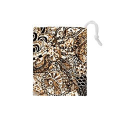 Zentangle Mix 1216c Drawstring Pouches (Small)