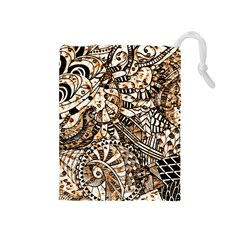 Zentangle Mix 1216c Drawstring Pouches (Medium)