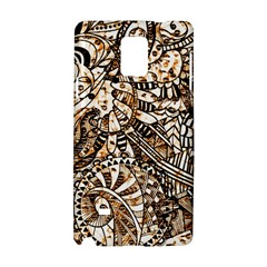 Zentangle Mix 1216c Samsung Galaxy Note 4 Hardshell Case