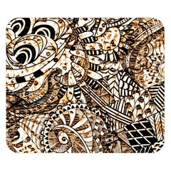 Zentangle Mix 1216c Double Sided Flano Blanket (Small)