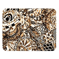 Zentangle Mix 1216c Double Sided Flano Blanket (Large)