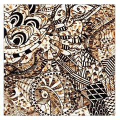 Zentangle Mix 1216c Large Satin Scarf (Square)