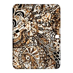 Zentangle Mix 1216c Samsung Galaxy Tab 4 (10.1 ) Hardshell Case