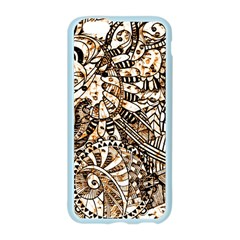 Zentangle Mix 1216c Apple Seamless iPhone 6/6S Case (Color)
