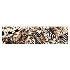 Zentangle Mix 1216c Satin Scarf (Oblong)