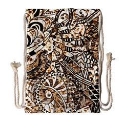 Zentangle Mix 1216c Drawstring Bag (Large)