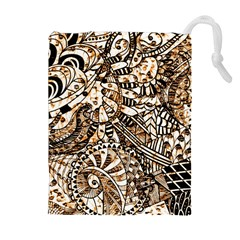 Zentangle Mix 1216c Drawstring Pouches (Extra Large)