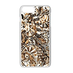 Zentangle Mix 1216c Apple iPhone 7 Plus White Seamless Case