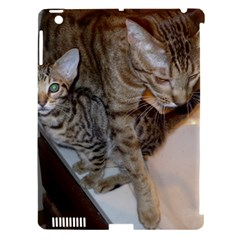 Ocicat Tawny Kitten With Cinnamon Mother  Apple iPad 3/4 Hardshell Case (Compatible with Smart Cover)