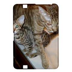 Ocicat Tawny Kitten With Cinnamon Mother  Kindle Fire HD 8.9