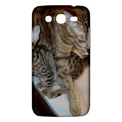 Ocicat Tawny Kitten With Cinnamon Mother  Samsung Galaxy Mega 5.8 I9152 Hardshell Case