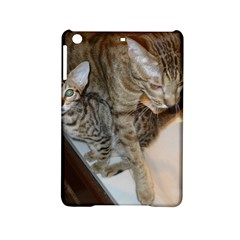 Ocicat Tawny Kitten With Cinnamon Mother  iPad Mini 2 Hardshell Cases