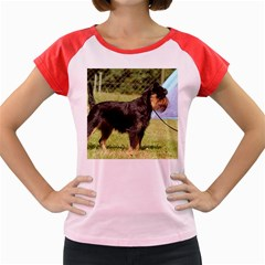 Brussels Griffon Full  Women s Cap Sleeve T-Shirt